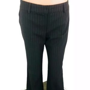 Trina Turk Dress Pants Size 6 Black Pinstrips